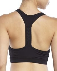 Reebok | Black Speed Impact Sports Bra | Lyst