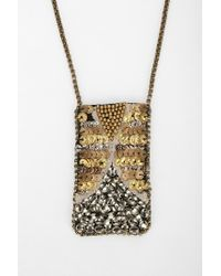 Urban Outfitters | Black Woven Seed Bead Necklace | Lyst
