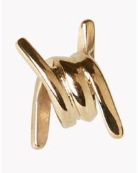 DSquared² - Metallic Mini Babe Wire Earrings - Lyst