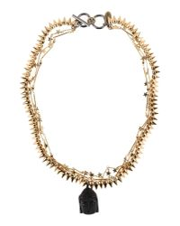 Venna | Metallic Necklace | Lyst