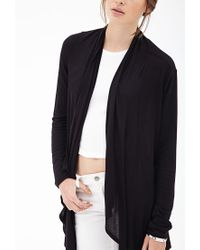 Forever 21 - Black Classic Draped Shawl - Lyst