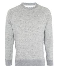 Our Legacy Blue Grey Melange 50s Sweater for men
