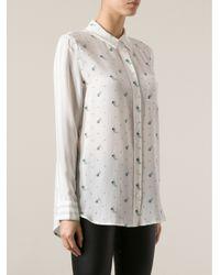 Equipment White Reese Shirt