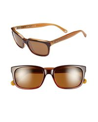Jack Spade | Brown 'payne' 54mm Polarized Sunglasses for Men | Lyst