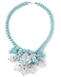 EK Thongprasert | Blue 'water Hyacinth' Necklace | Lyst
