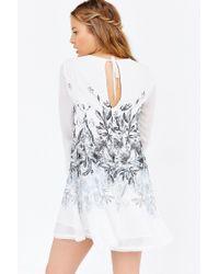 Kimchi Blue White Cinderdrea Frock Dress