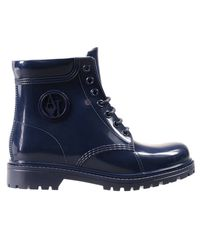 Armani Jeans | Blue Boots Shoes Woman | Lyst