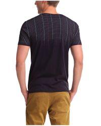 BOSS Orange - Blue 'tibro' | Slim Fit, Cotton Graphic T-shirt for Men - Lyst