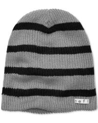 Neff | Black Daily Striped Beanie for Men | Lyst
