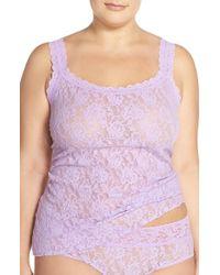 Hanky Panky Purple 'signature' Lace Camisole