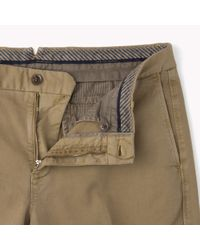 Tommy Hilfiger - Natural Stretch Cotton Trousers for Men - Lyst