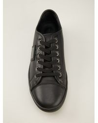 Dolce & Gabbana - Black Lace-Up Sneakers for Men - Lyst