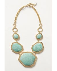 Isharya - Green Meandering Necklace - Lyst