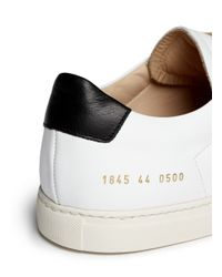 Common Projects - Multicolor Achilles Retro Nappa Leather Low-Top Sneakers for Men - Lyst