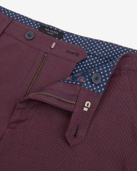 Ted Baker Textured Cotton Shorts for men