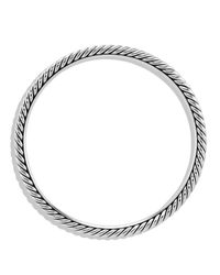 David Yurman - Metallic Cable Classics Bangle - Lyst