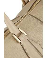 Tod's - Metallic D-Cube Mickey Medium Textured-Leather Tote - Lyst