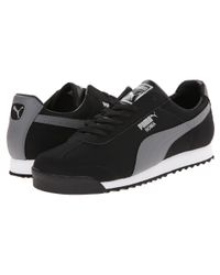 PUMA - Black Roma Blocks - Lyst