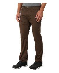 Billabong - Brown Outsider Chino Pants for Men - Lyst