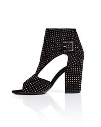 Laurence Dacade - Black Rick Studded Suede Boots - Lyst