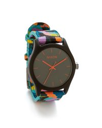 Nixon | Multicolor Mod Acetate Watch - Charcoal/Neo Preen | Lyst