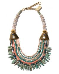 Lizzie Fortunato | Blue Long Bay Necklace | Lyst