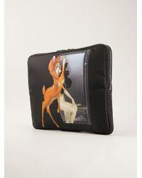 Givenchy Black Collage Print Laptop Case for men
