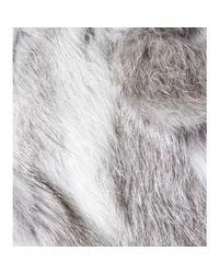 Isabel Marant Gray Anise Rabbit Fur Jacket