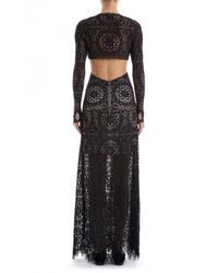 Temperley London | Black Long Nomi Backless Dress | Lyst
