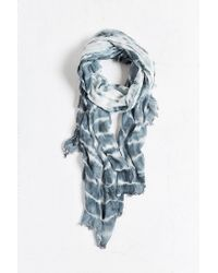 Urban Outfitters | Blue Tie Dye Sheer Scarf for Men | Lyst