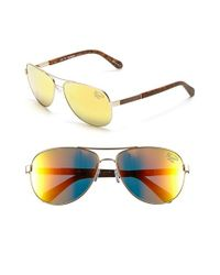 Original Penguin | Metallic 'the Davis' 61mm Polarized Sunglasses for Men | Lyst