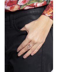 Iam By Ileana Makri - Metallic Chantilly Rose Gold-plated Silver Ring - Lyst