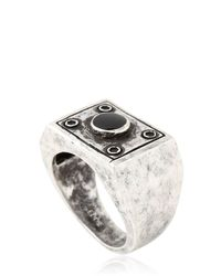Eddie Borgo - Metallic Box Ring - Lyst