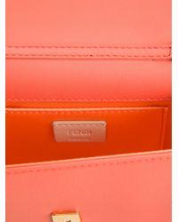 Fendi - Pink Mini 'rush' Shoulder Bag - Lyst