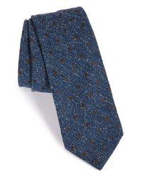 Todd Snyder - Blue Dot Silk Blend Tie for Men - Lyst