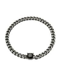 Lauren by Ralph Lauren | Black Hematite Chainlink Necklace | Lyst