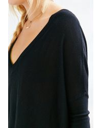 Pins And Needles - Black Tent Sweater - Lyst
