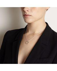 Myia Bonner - Metallic Small Black Brilliant Diamond Necklace - Lyst
