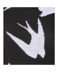 McQ Black Knitted Wool Dress