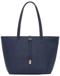 Vince Camuto | Blue Leila Large Tote | Lyst