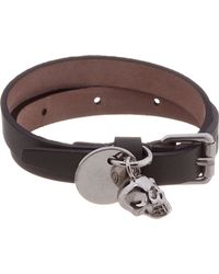 Alexander McQueen | Olive Green Wrap Bracelet for Men | Lyst
