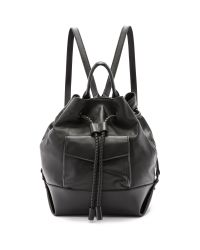 L.A.M.B. - Gracie Drawstring Backpack - Black - Lyst