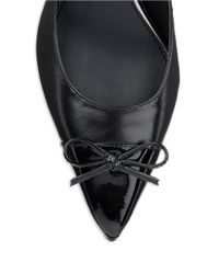 Lauren by Ralph Lauren | Black Sienna Slingback Point Toe Pumps | Lyst