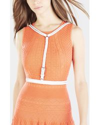 BCBGMAXAZRIA | White Braided Harness | Lyst