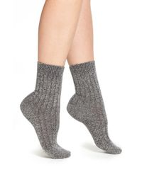 e43599274f4 Lyst - Pantherella  tabitha  Cashmere Blend Ankle Socks in Gray