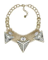 Sam Edelman | Natural Tribal Spirit Pyramid Necklace | Lyst