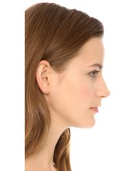 Tai Metallic Xo Earrings