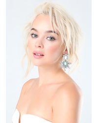 Bebe - Multicolor Opal Stone Earrings - Lyst