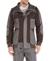 Nicholas K - Brown Boris Hooded Jacket for Men - Lyst