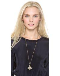 Vivienne Westwood Metallic Stella Orb Pendant Necklace